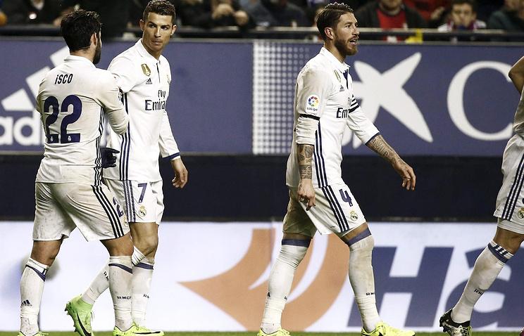 «Реал» одержал победу у«Осасуны» вматче чемпионата Испании пофутболу
