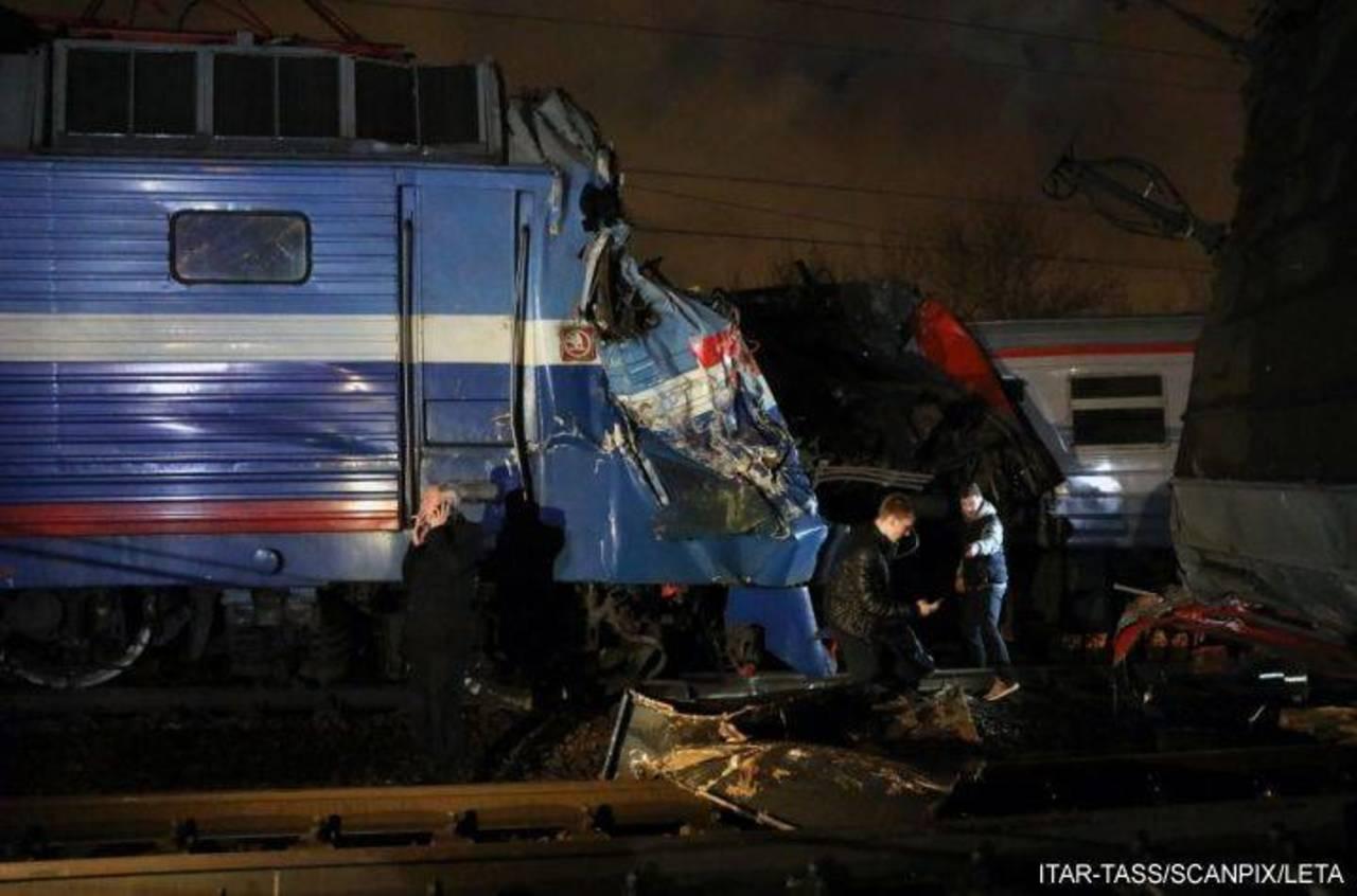 Столкновение поездов в столице: появилось видео инцидента