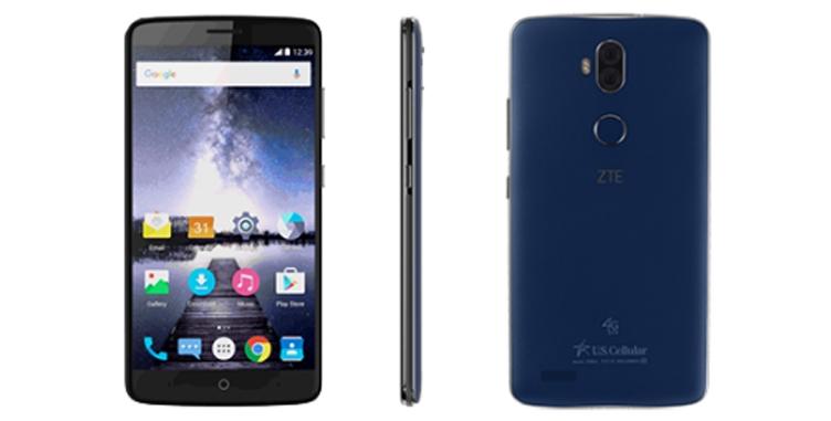 ZTE представила 6-дюймовый смартфон на андроид Nougat за $130