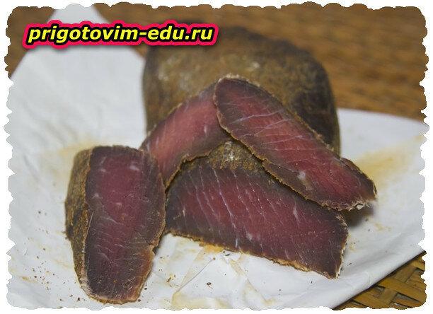 Как приготовить Вяленое мясо из телятины (HD) Видео рецепт .