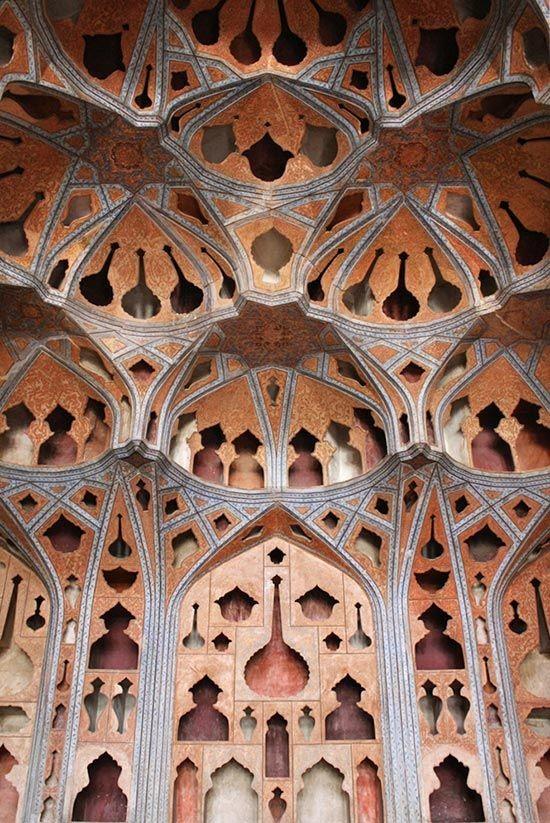 Ali Qapu - Музыкальный зал - Исфахан - Иран