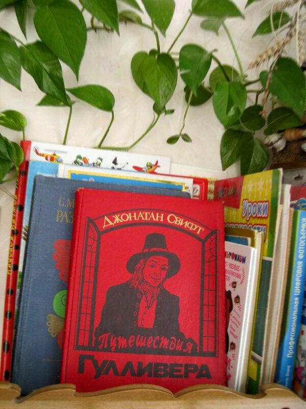 книга в интерьере