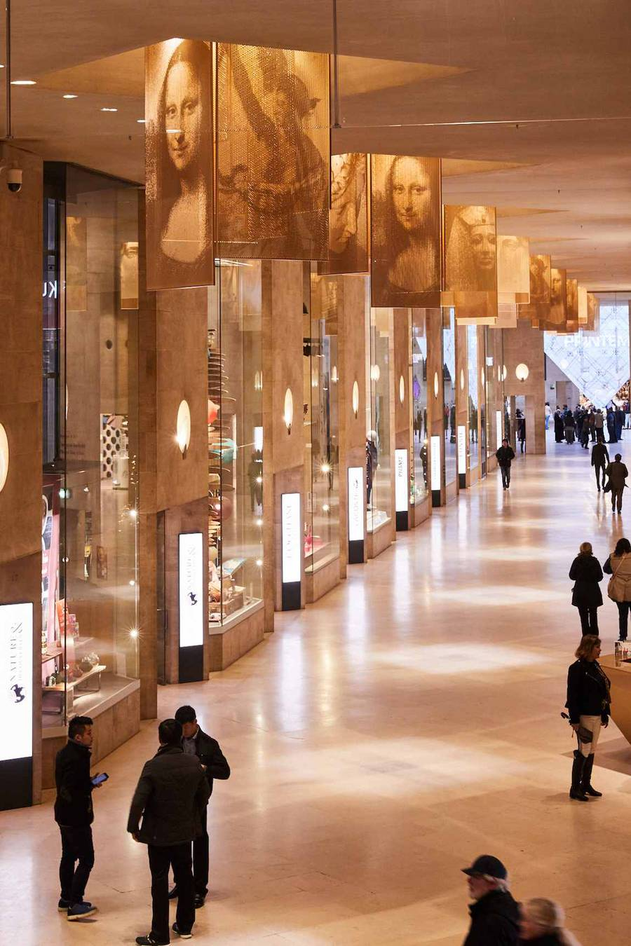 New Paris Louvre Museum Shopping Mall by Wilmotte & Associes