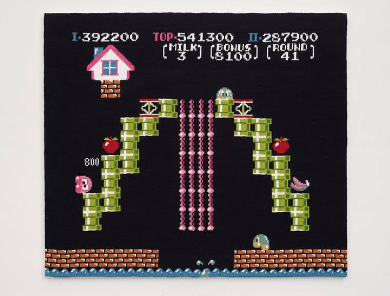 Game Over - When traditional tapestry meets classic video games