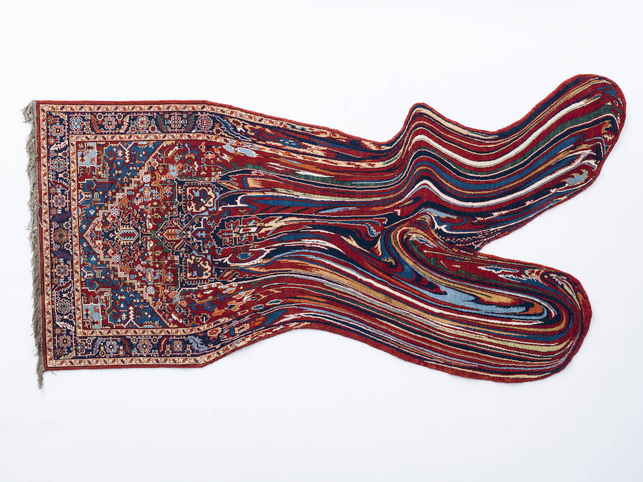 New Glitched-Out Azerbaijani Carpets by Faig Ahmed