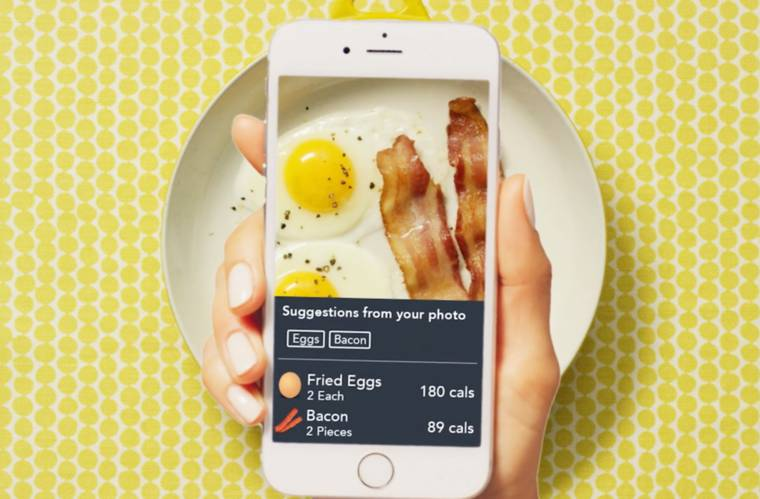 Snap It - This app feature counts the calories of your meal in real time
