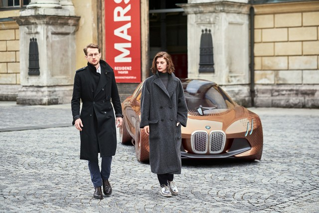 New BMW Vision Exterior Exudes Warmth and Power