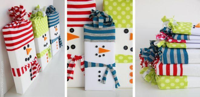 Новогодние подарки ребенку своими руками