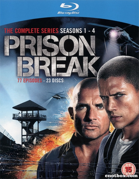 Побег из тюрьмы (1-4 сезоны: 1-81 серии из 81) / Prison Break / 2005-2009 / ДБ (РЕН ТВ) / HDRip