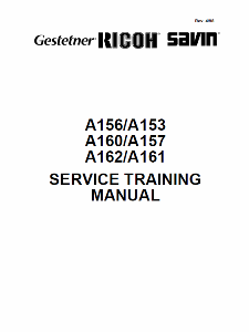 service - Инструкции (Service Manual, UM, PC) фирмы Ricoh - Страница 2 0_1b1fac_2858be7_orig