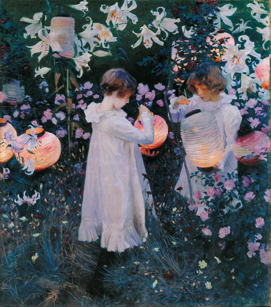 Carnation, Lily, Lily, Rose. 1885-86