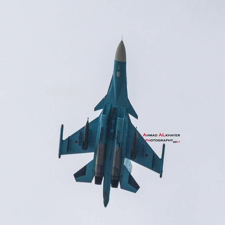 Красивые фото самолетов ВКС России из Латакии