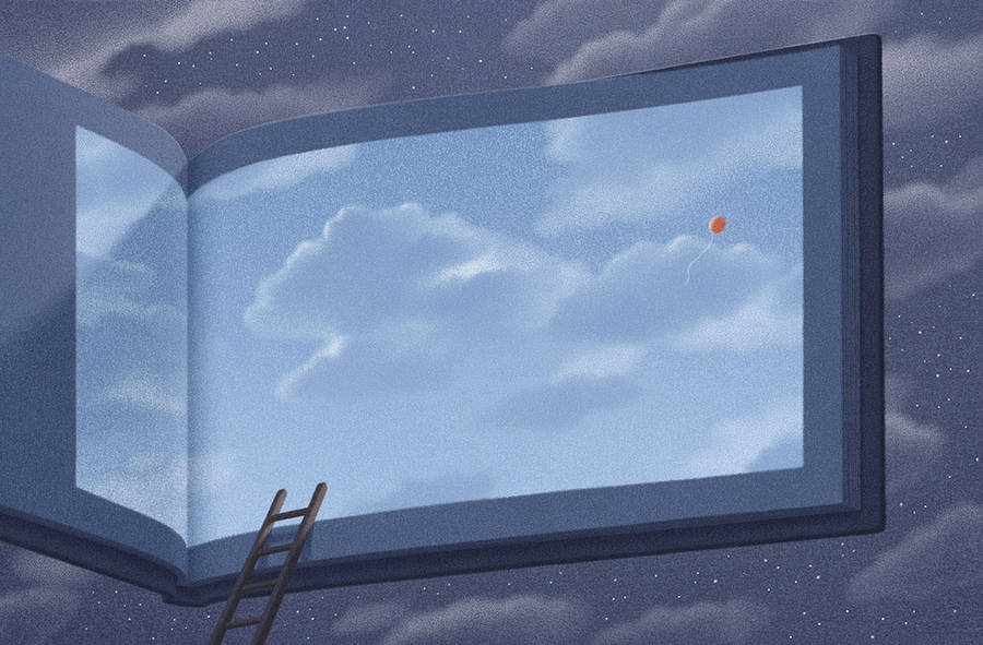 Surreal Illustrations for Book Lovers