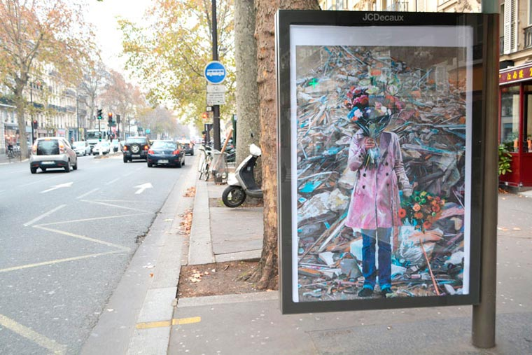 Brandalism – Street Artists take-over 600 billboard ads in Paris for COP21