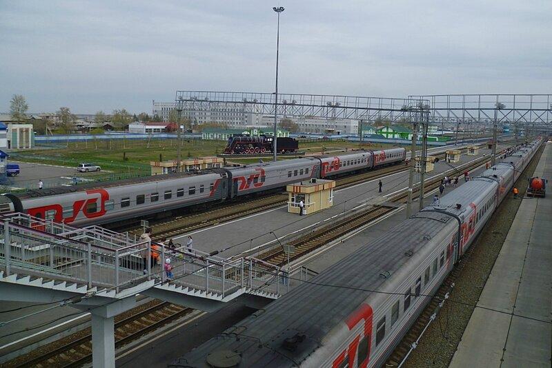 Россия, станция Барабинск (Russia, station Barabinsk)