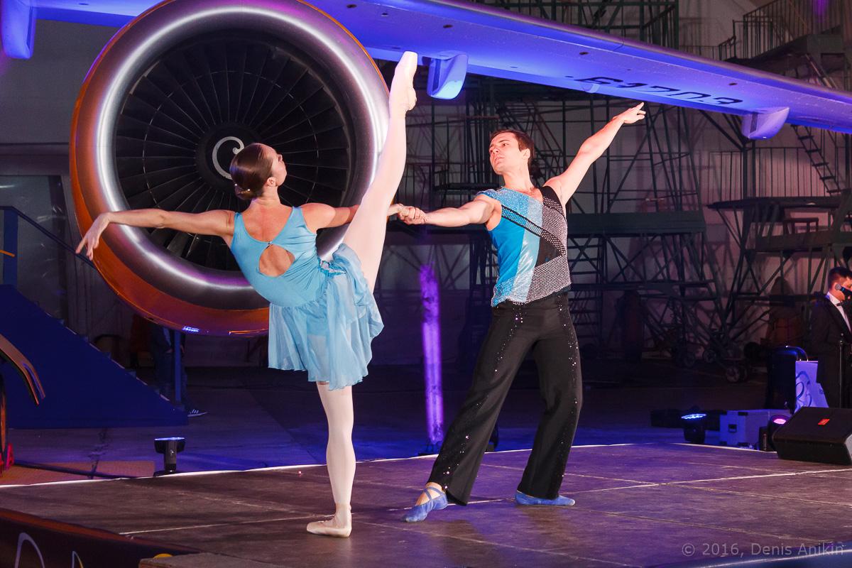 балет самолёт презентация ан-148 саратовские авиалинии вера шарипова фото 3