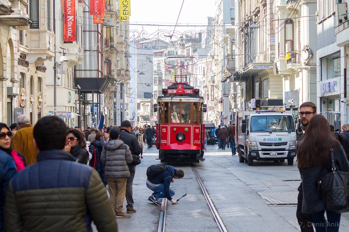 Трамвай Истикляль фото 2