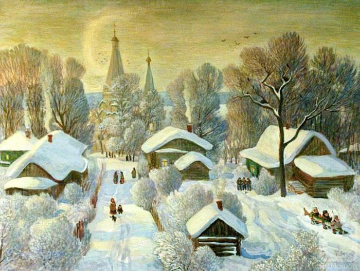Валерий Сыров. Зимние забавы.