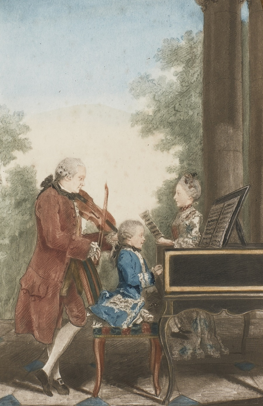 MOZART AND HIS FAMILY, 1777.jpg