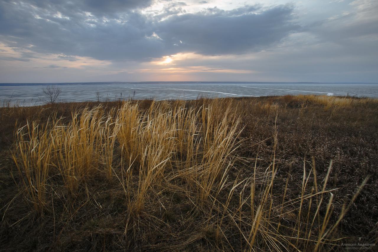 Весна на Жигулёвском море (Самарская область)