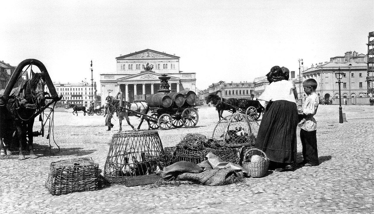 Театральная площадь. 1902