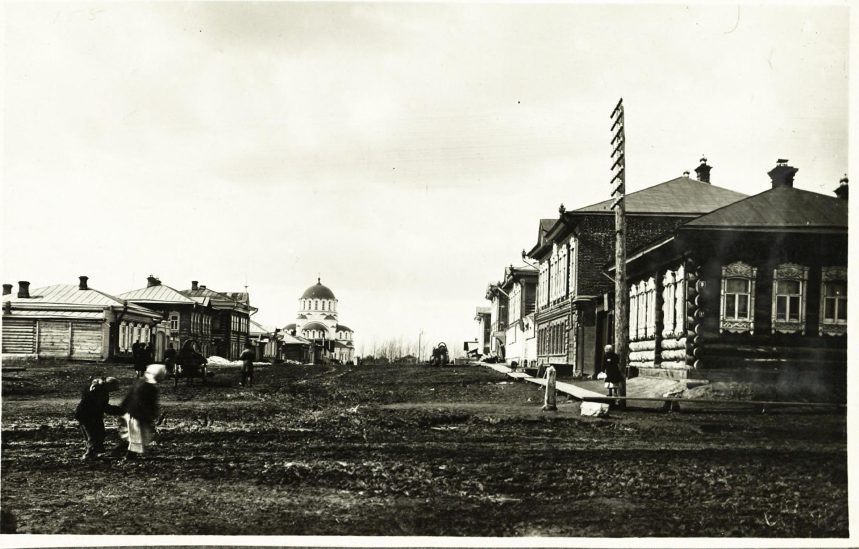 Улица Вознесенская в 1914