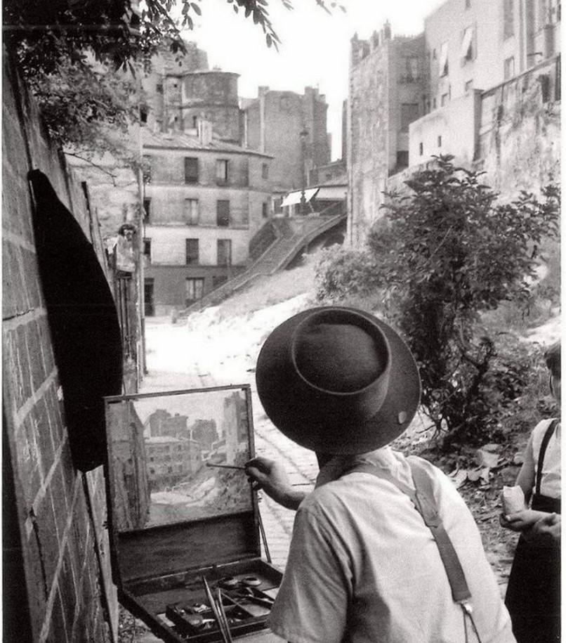 1947. Лестница на улице Вилин