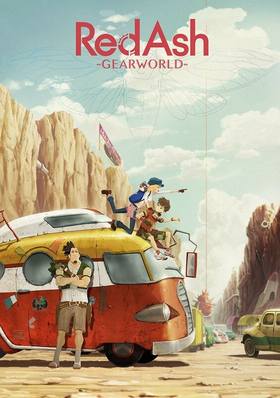 """Red Ash The Animation: Magicicada"", 2017 - подробности."