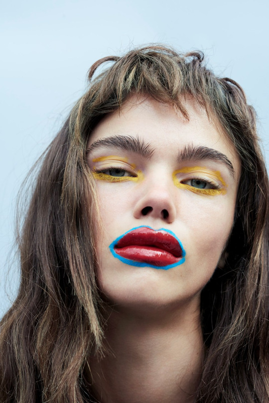 Funny Face Model Jena Goldsack / Photographer Liz Collins