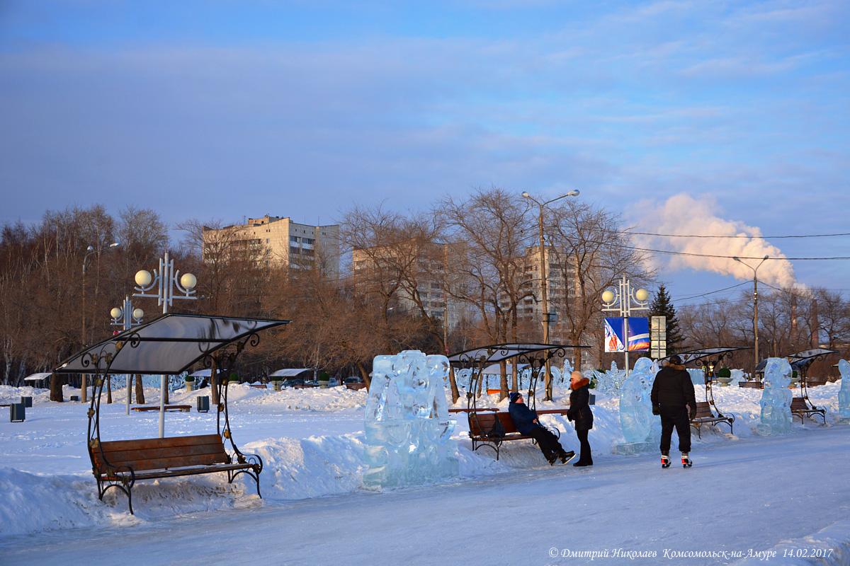 на амуре комсомольск зима фото