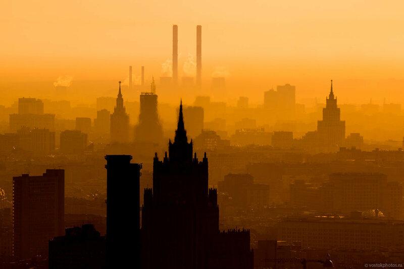Очень красивые фотографии Москвы