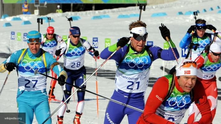Французский биатлонист обозвал русского спортсмена Александра Логинова мошенником