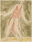 Isadora Duncan (enface left, tilting slightly back and right, arms and legs apart, half toe, red pink tunic).jpg