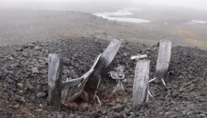 Руины бункера./фото: express.co.uk  Евгений Ермолов, старший научный сотрудник Национального
