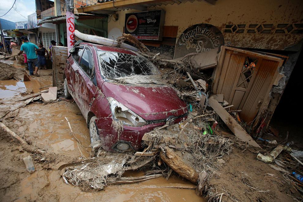 8. Селевые потоки разрушают сооружения, объекты инфраструктуры, уничтожают сельскохозяйственные