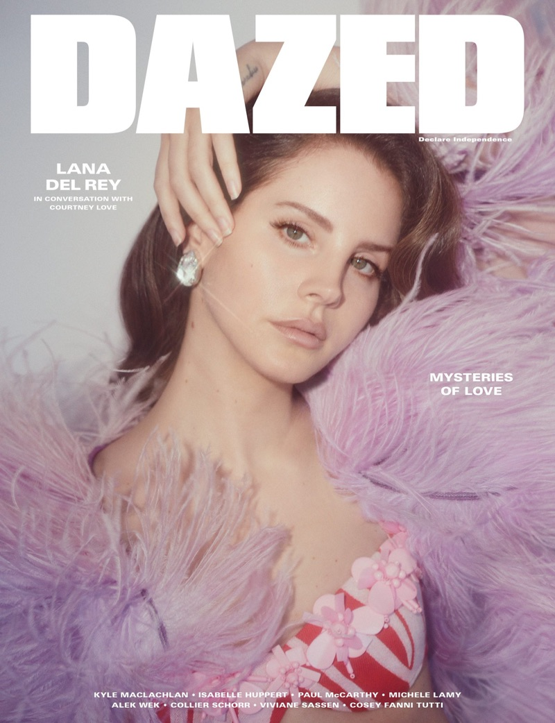 Лана Дель Рей на обложке Dazed Magazine (6 фото)