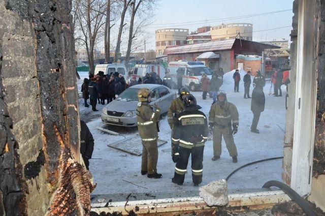 Вдоме наулице Быковского вКрасноярске восстановлено отопление