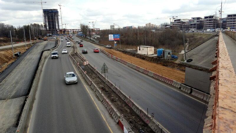 еще цвет фото развязки минского шоссе сочетании белым
