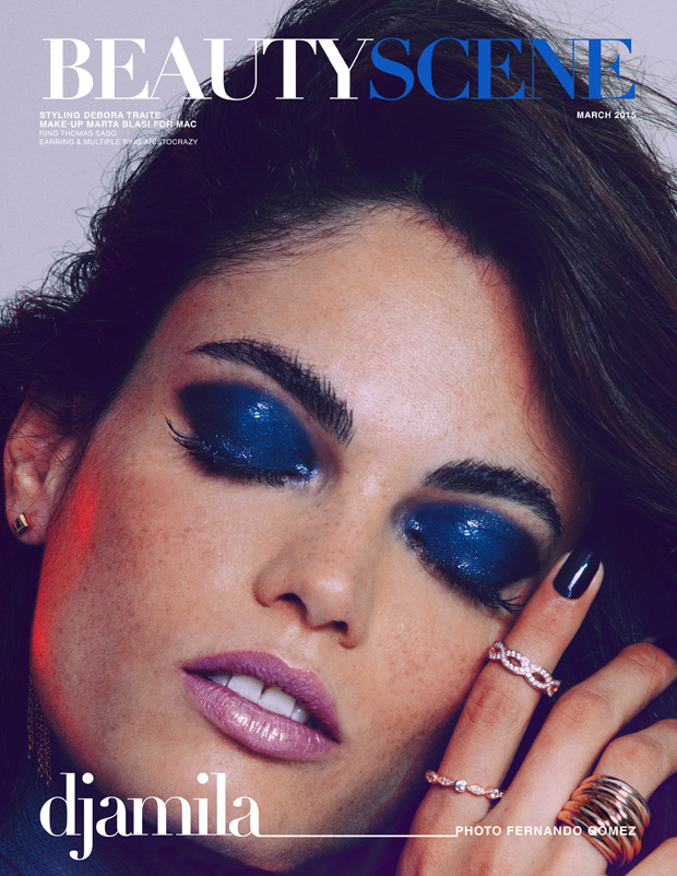 Djamila del Pino by Fernando Gomez for Beauty Scene