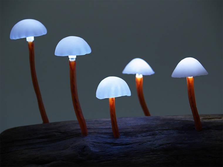 Mushroom Lamps – The fascinating lamps from designer Yukio Takano (19 pics)