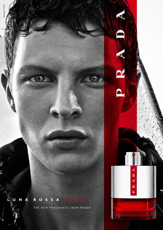 Tim Schuhmacher for Prada Luna Rossa Sport Fragrance