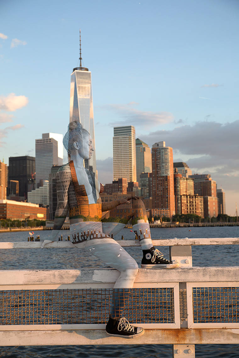 Sweet Land of Liberty - The latest urban camouflages of Trina Merry