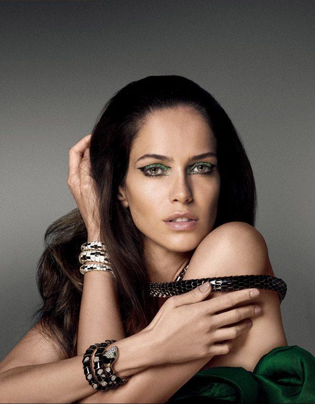 Amanda Wellsh Models Bulgari Jewelry for Vogue Japan January 2017 Issue