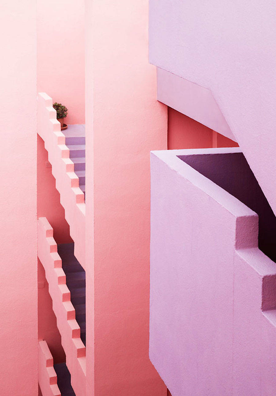 Multicolored Architectural Photography in Spain