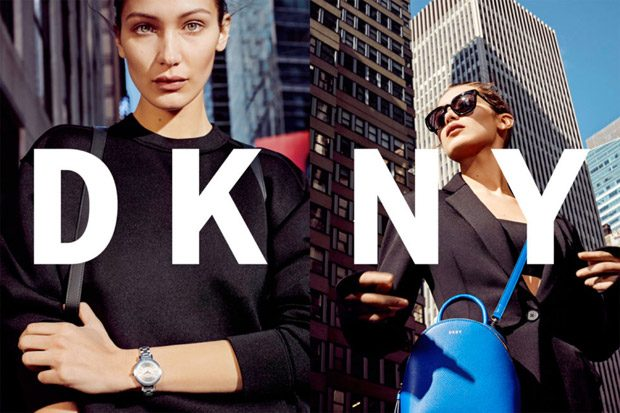 1ST LOOK: Bella Hadid Stars in DKNY Spring Summer 2017 Campaign (3 pics)