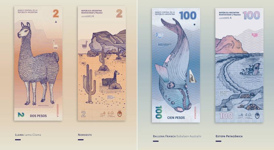 Beautiful Redesign of the Argentinean Bills (7 pics)