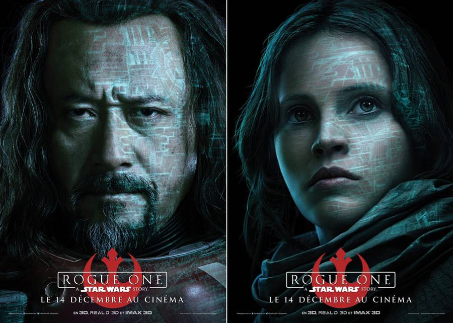 Rogue One : A Star Wars Story Movie Posters (9 pics)