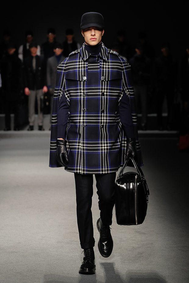 #MFW DAKS Autumn Winter 2017/18 Menswear Collection