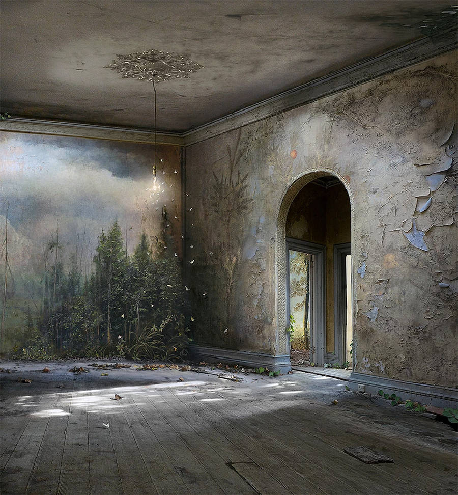 Apocalyptic and Enchanting Photomontages by Suzanne Moxhay