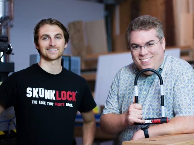 Skunklock - U-замок с сюрпризом